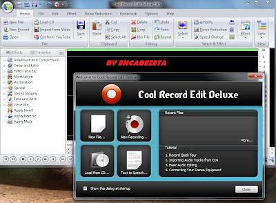 Cool Record Edit Deluxe 7.9.5 Trabaje con Grabaciones de Sonido en tu PC