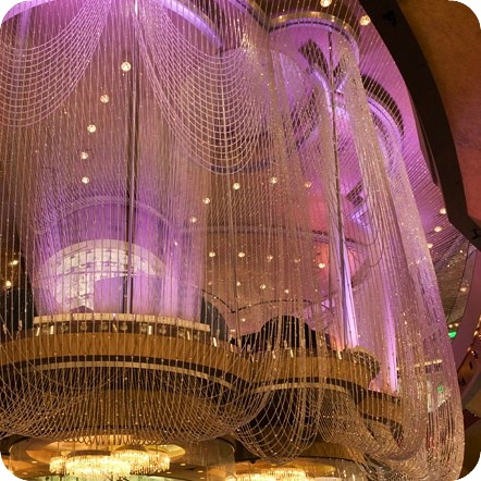 Bead and needle how very cosmopolitan las vegas nv on travel not to be missed billed as the most expensive hotel ever the centerpiece of the cosmo is the chandelier a three story bar boasting 2 million glass aloadofball Gallery