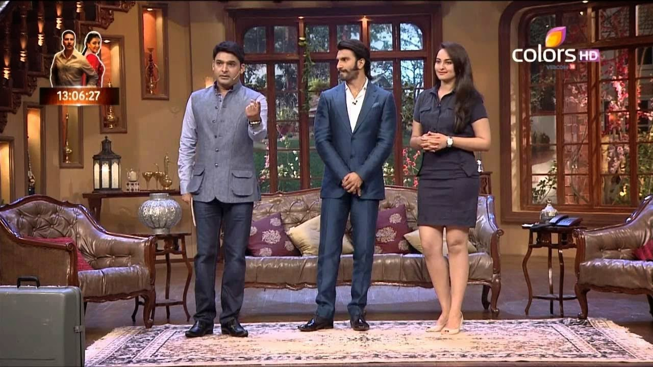 ranveer singh and sonakshi sinha comedy nights with kapil hd wallpaper free download