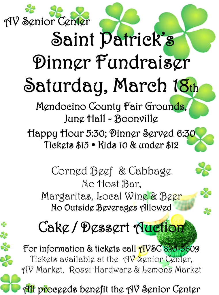 St Patrick's Day Fundraiser