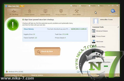 Wise Care 365 Pro 2.76.219 Gratis Full Version