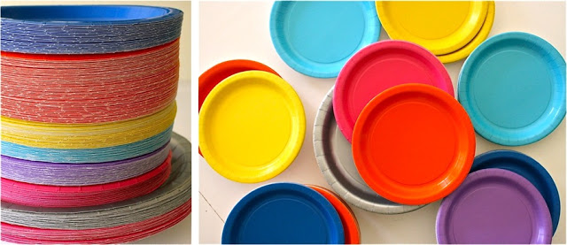 decoración platos de cartón manualidades