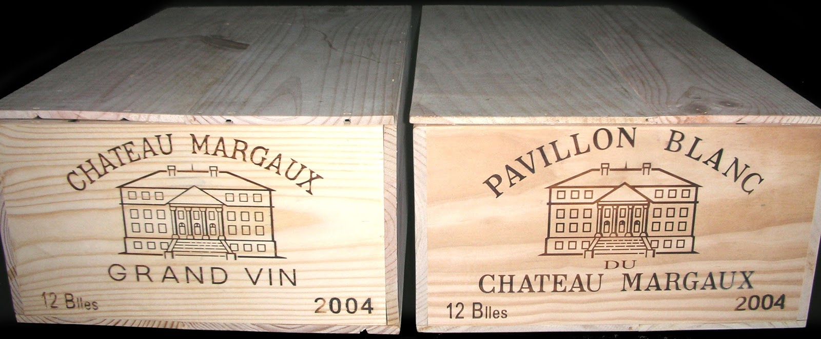 Wood Wine Crate & Box Profiles: Chateau Margaux