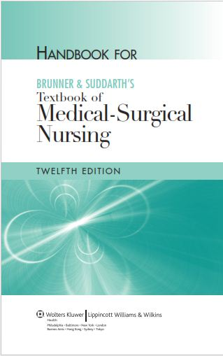 The expert nursing student handbook for brunner an suddarths handbook for brunner an suddarths textbook of medical surgical nursing12th edition suzann download ebook fandeluxe
