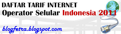 tarif internet operator indonesia