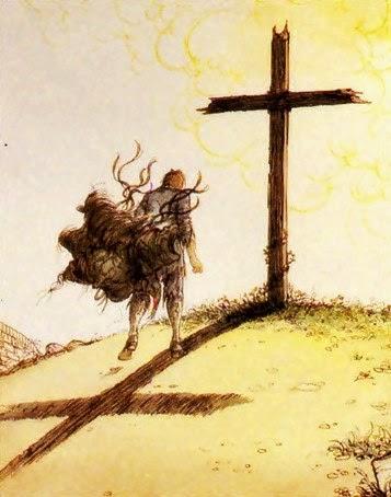 gettare i propri pesi su Cristo