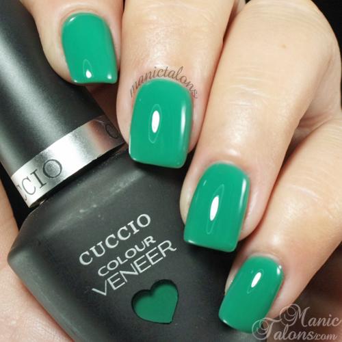 Cuccio Colour Veneer Jakarta Jade Swatch
