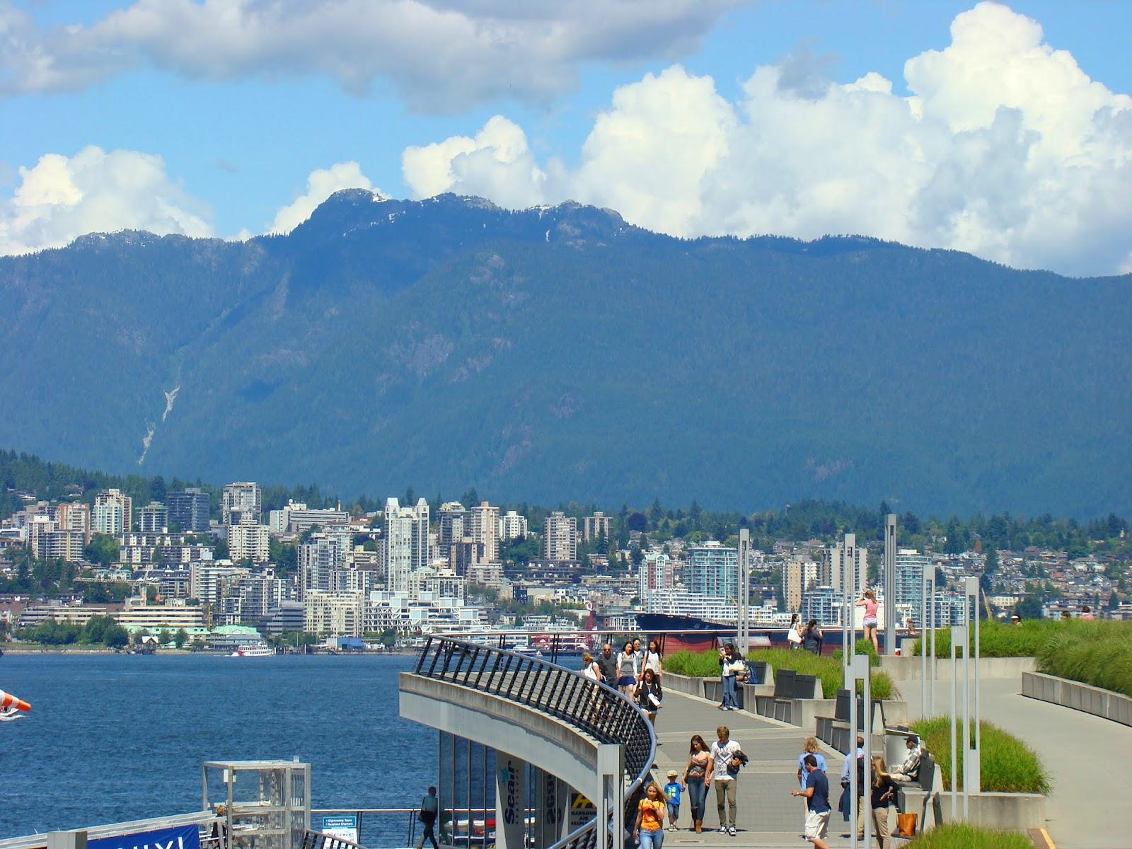 набережная Даунтауна Ванкувера