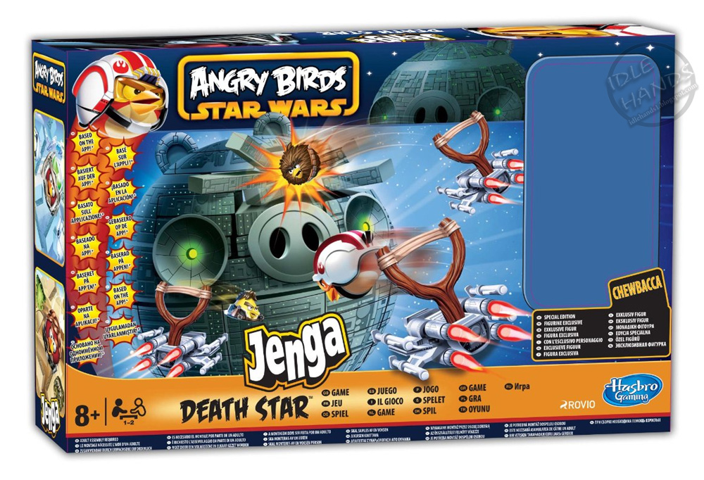 Angry Birds - Jenga Death Star Game New Condition ...
