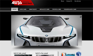 Auto Racing WordPress Theme
