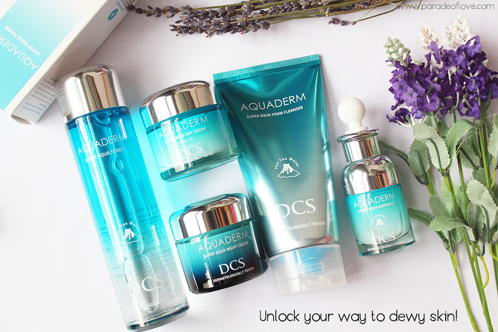 Unlock the Korean secret to dewy skin with DCS AQUADERM skincare range: Review