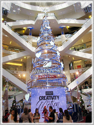 Asia's Tallest Swarovski Christmas Tree, Dec 4 2015