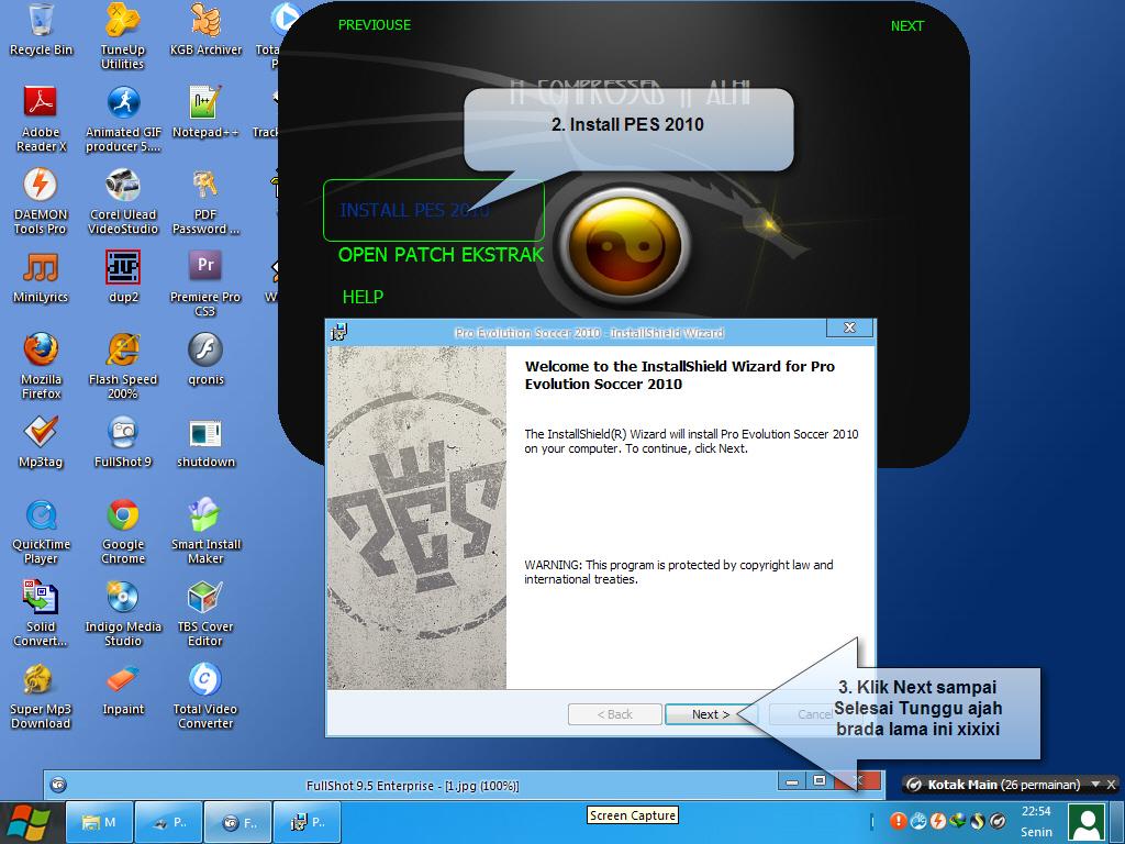 Game PC FULL : Pro Evolution Soccer 2010 Highly Compressed Full Keygen Crac