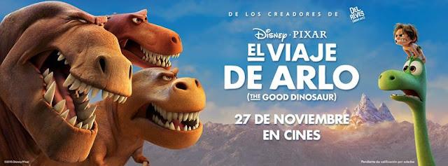 Película de Disney-Pixar El viaje de Arlo