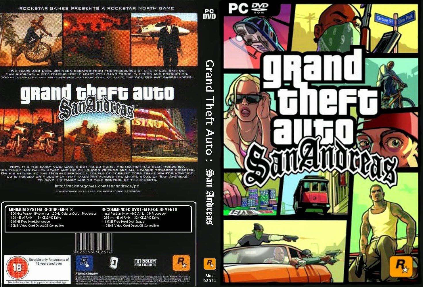 Cheat Langsung Tamat Grand Theft Auto San Andreas PC