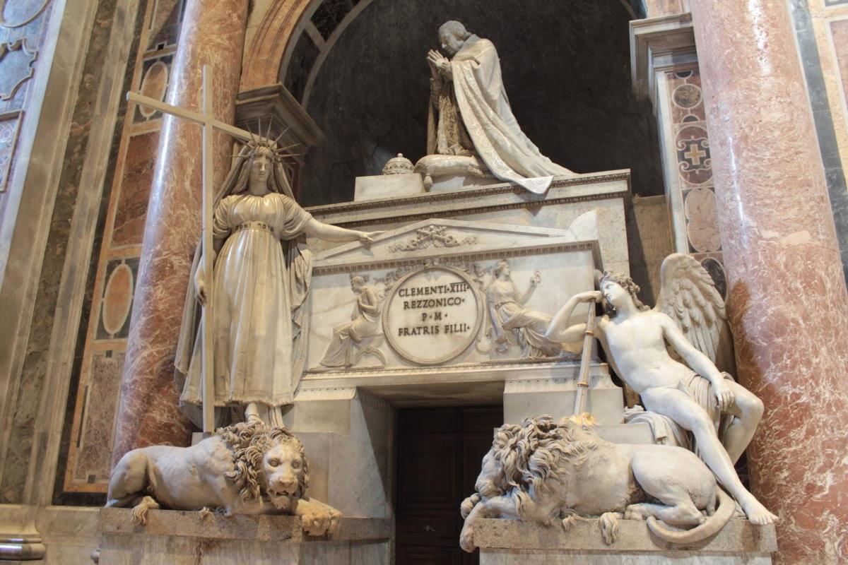 La tomba di Clemente XIII (Canova, 1791)