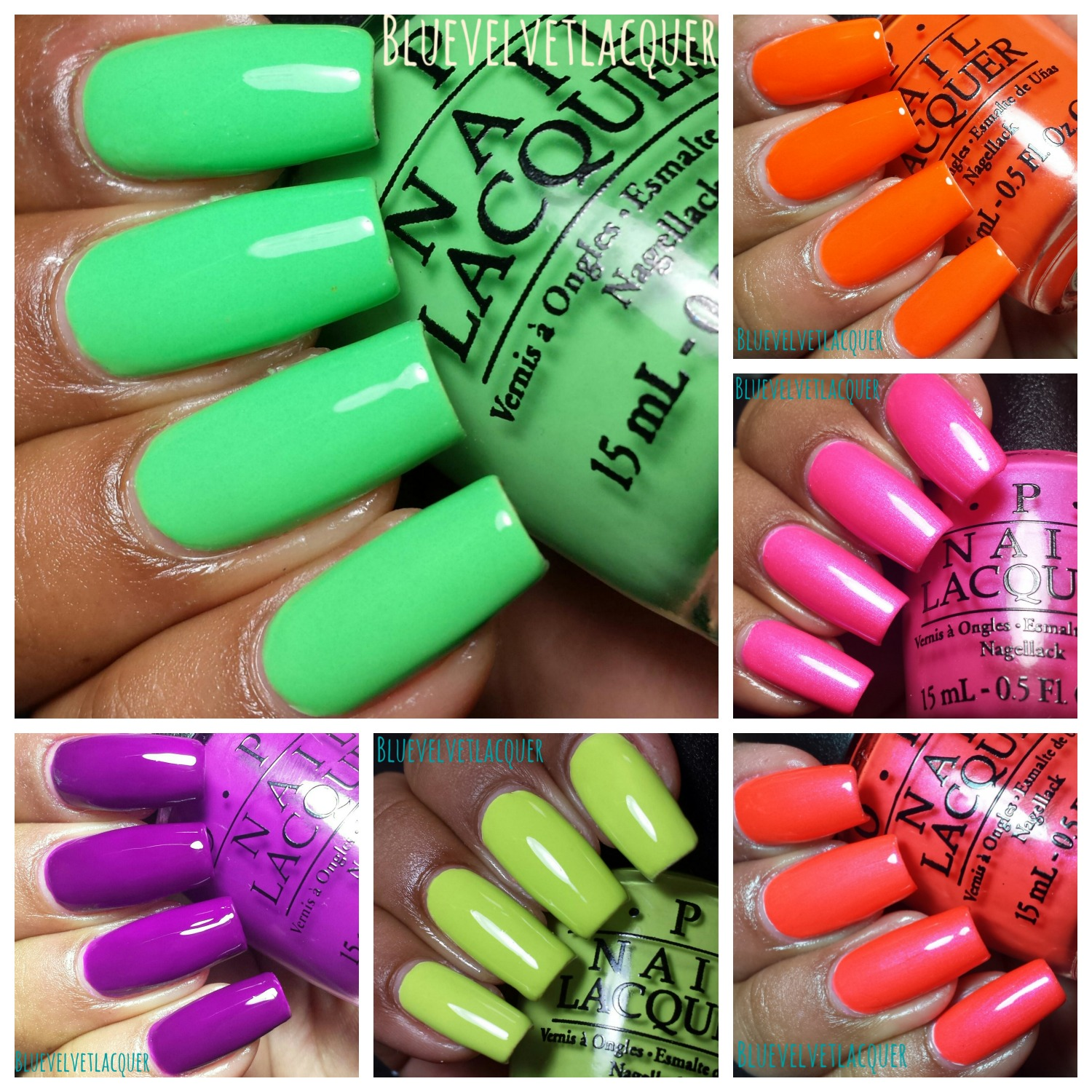 This Is OPIs First Full Size Neon Collection Which I Totally Dont Understand Why They Always Do Theyre Formula Amazing So A