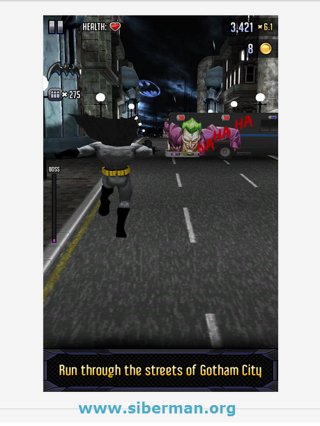 Android Batman & The Flash Hero Run Apk resimi 1