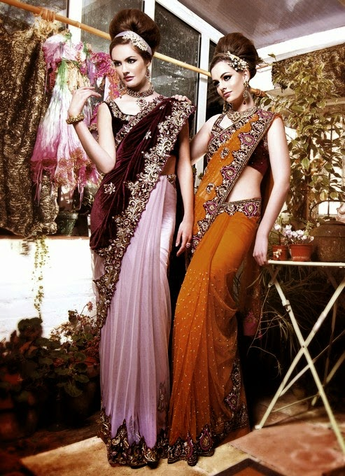 Mongas Latest Saree Collection