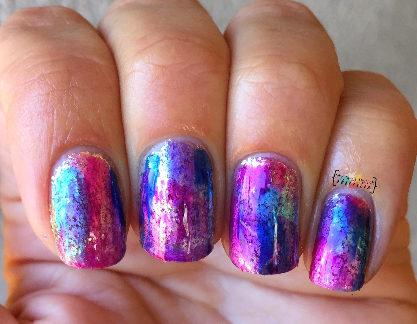 nail art with Colors by Llarowe Colorado On My Mind