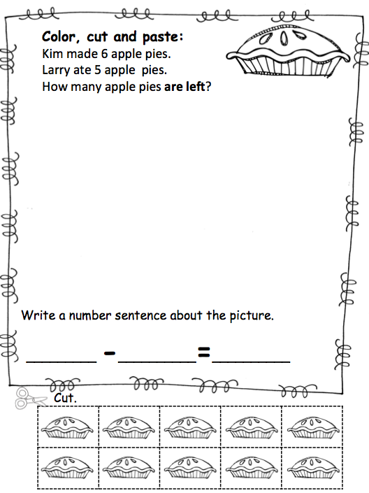 math worksheet : word problem solving for kindergarten  we can do your homework  : Kindergarten Word Problem Worksheets