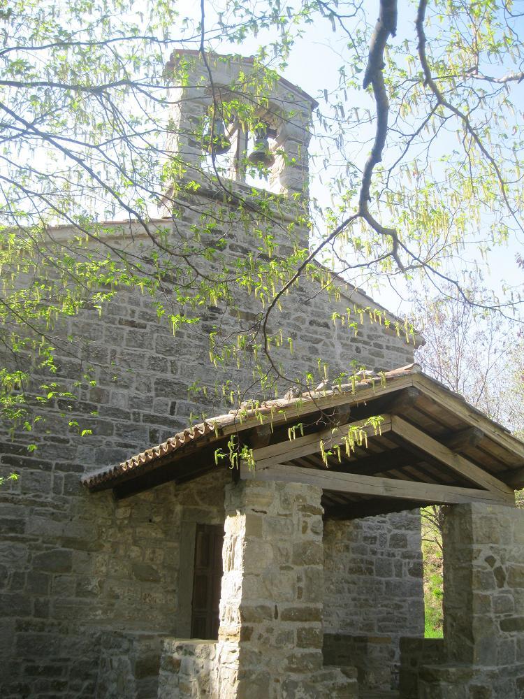 La nuova casa della mia anima la cappella di san rocco e for Costo della nuova casa