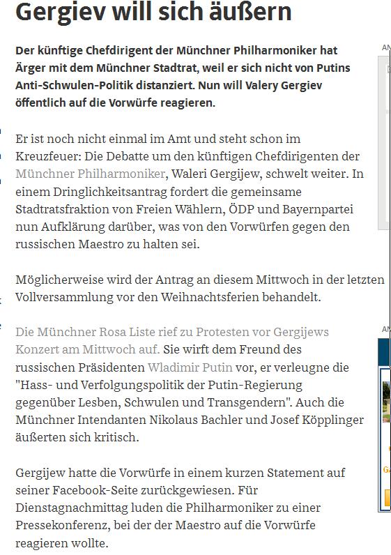 Udes München wieder auf Schwulenkurs