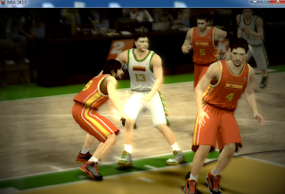 NBA 2K13 National Teams Spain Mod