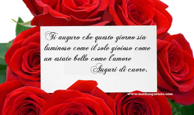 Favoloso Messaggi Di Buon Compleanno D Amore - Jerry Carrasquillo Blog DW38