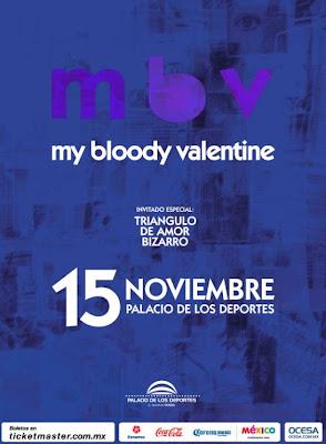 My Bloody Valentine elige a Triángulo de Amor Bizarro para su presentación en México