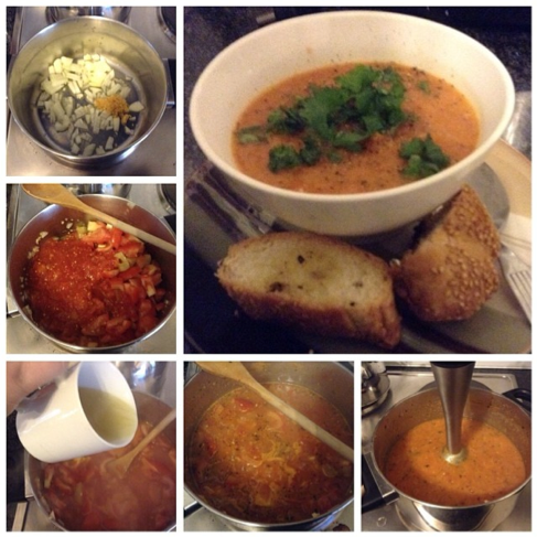 tomato soup how to