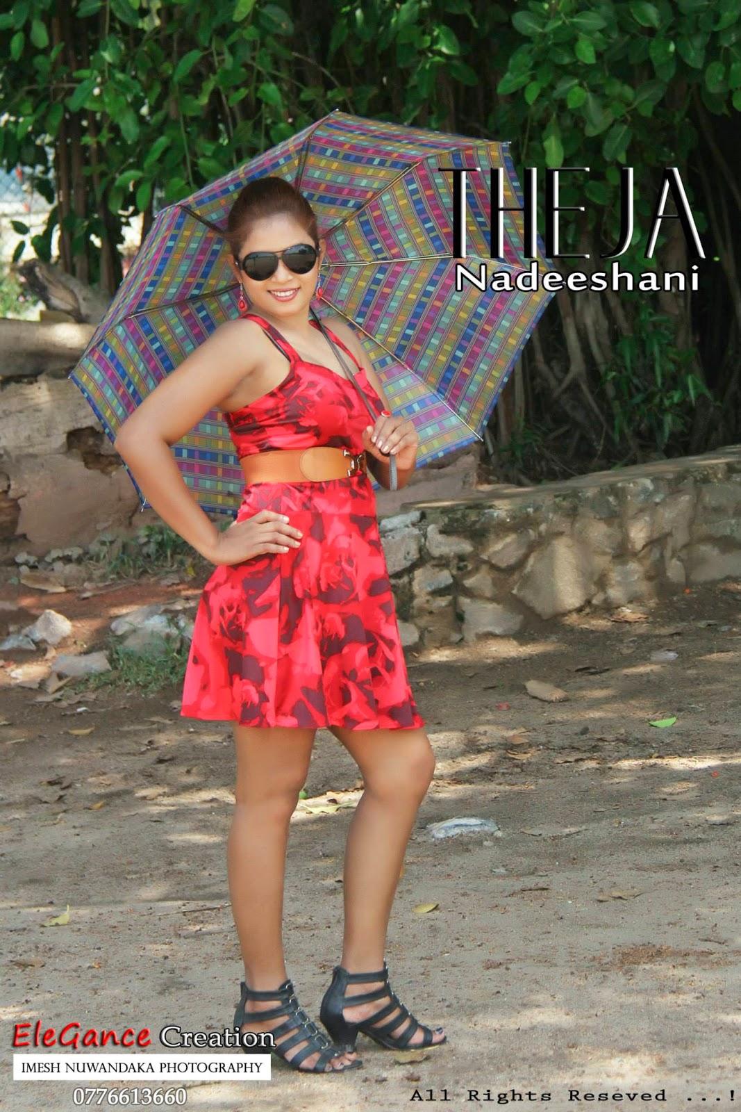 THEJA NADEESHANI short dress