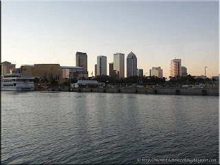 Tampa Bay as seen from the Yacht StrShipII