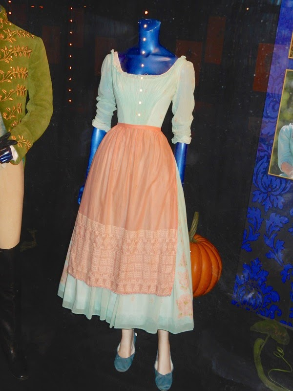 Lily James Cinderella servant girl costume