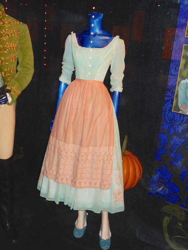 Lily James Cinderella servant girl costume