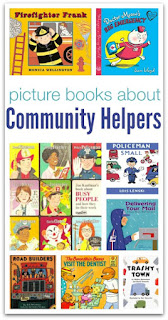 http://www.notimeforflashcards.com/2014/04/picture-books-about-community-helpers.html