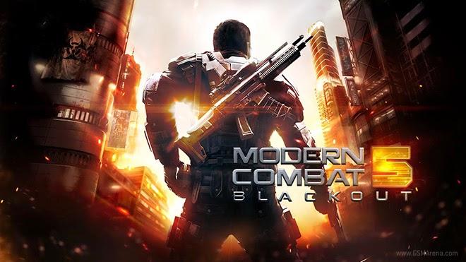 Modern Combat 5: Blackout APK + Datos SD Mod (munición ilimitada)