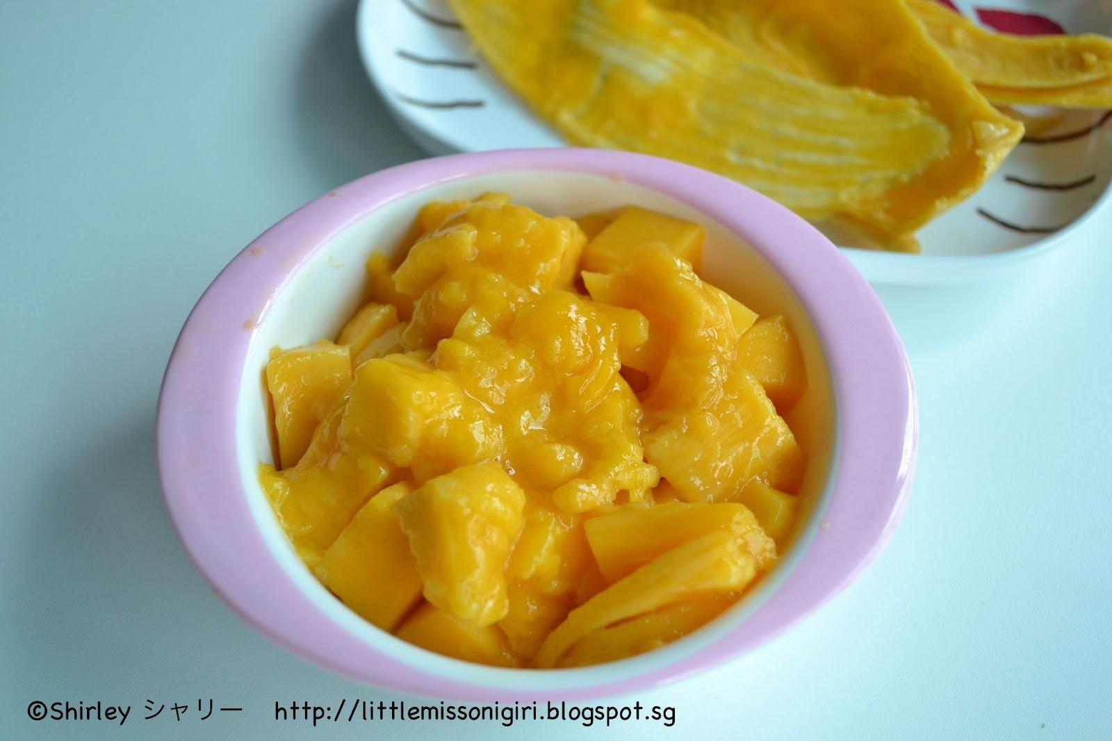 how to prepare mango fruit