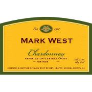 label from bottle of Mark West Chardonnay