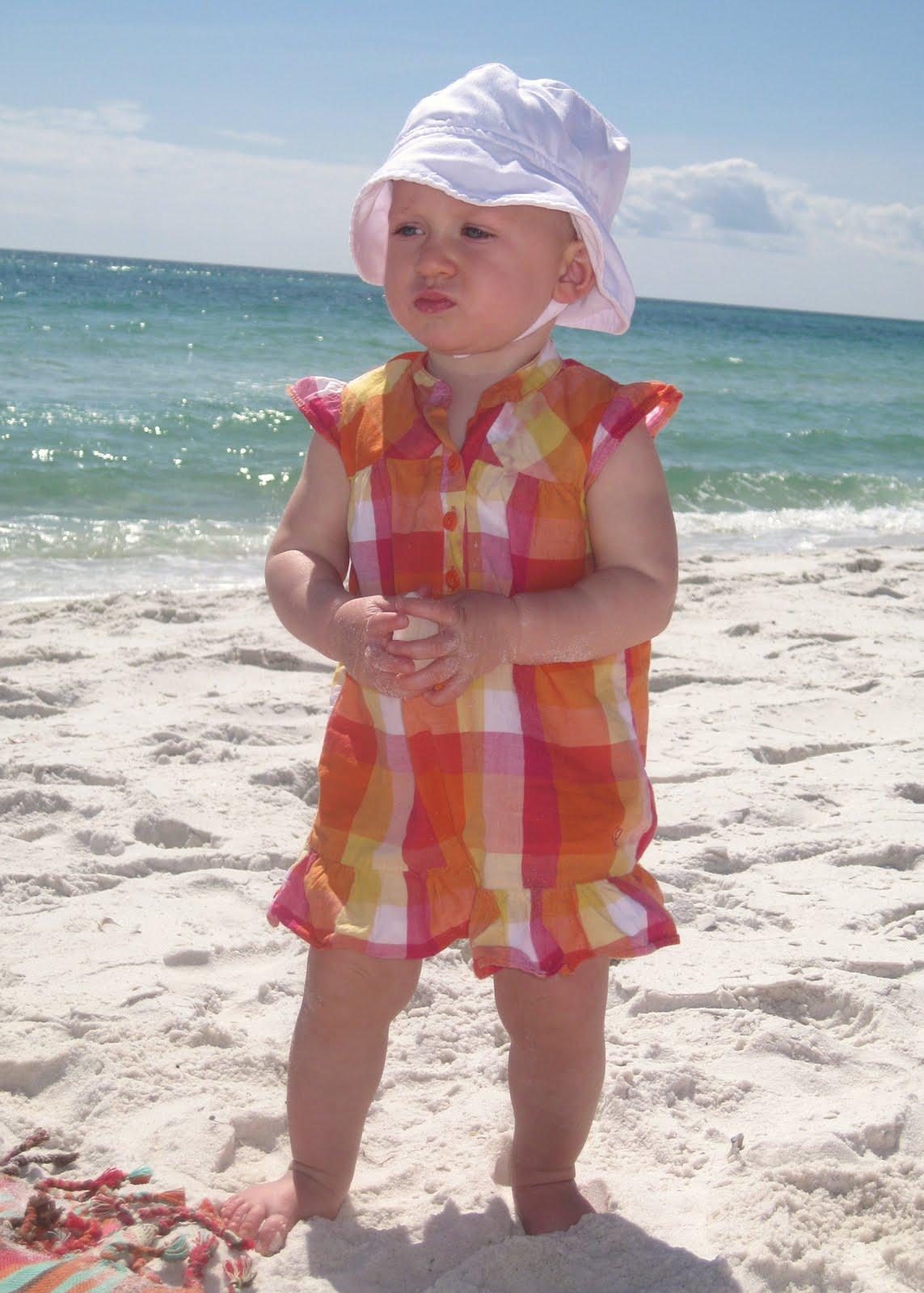 makings of a beach girl!