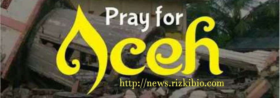 Pray for Aceh