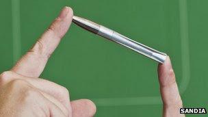 Peluru baru tentera Amerika yang dipandu oleh laser