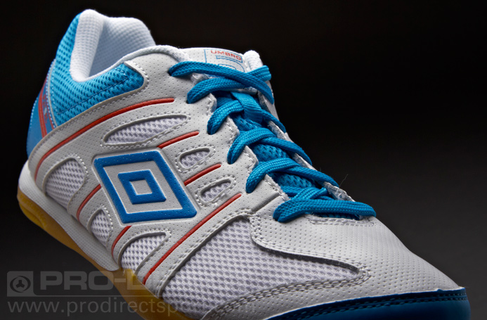 d882c01bd88 Online Futsal Shoes Shop  Umbro Sonic League Indoor - White Blue Red