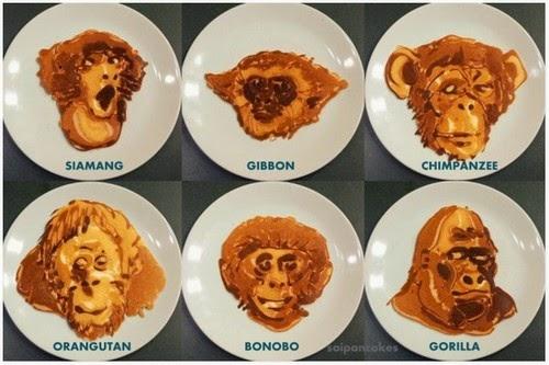 Menarik Pancake Pelbagai Jenis Monyet