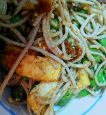 Almond Tofu with Snap Peas and Soba Noodles | The Diary of ...