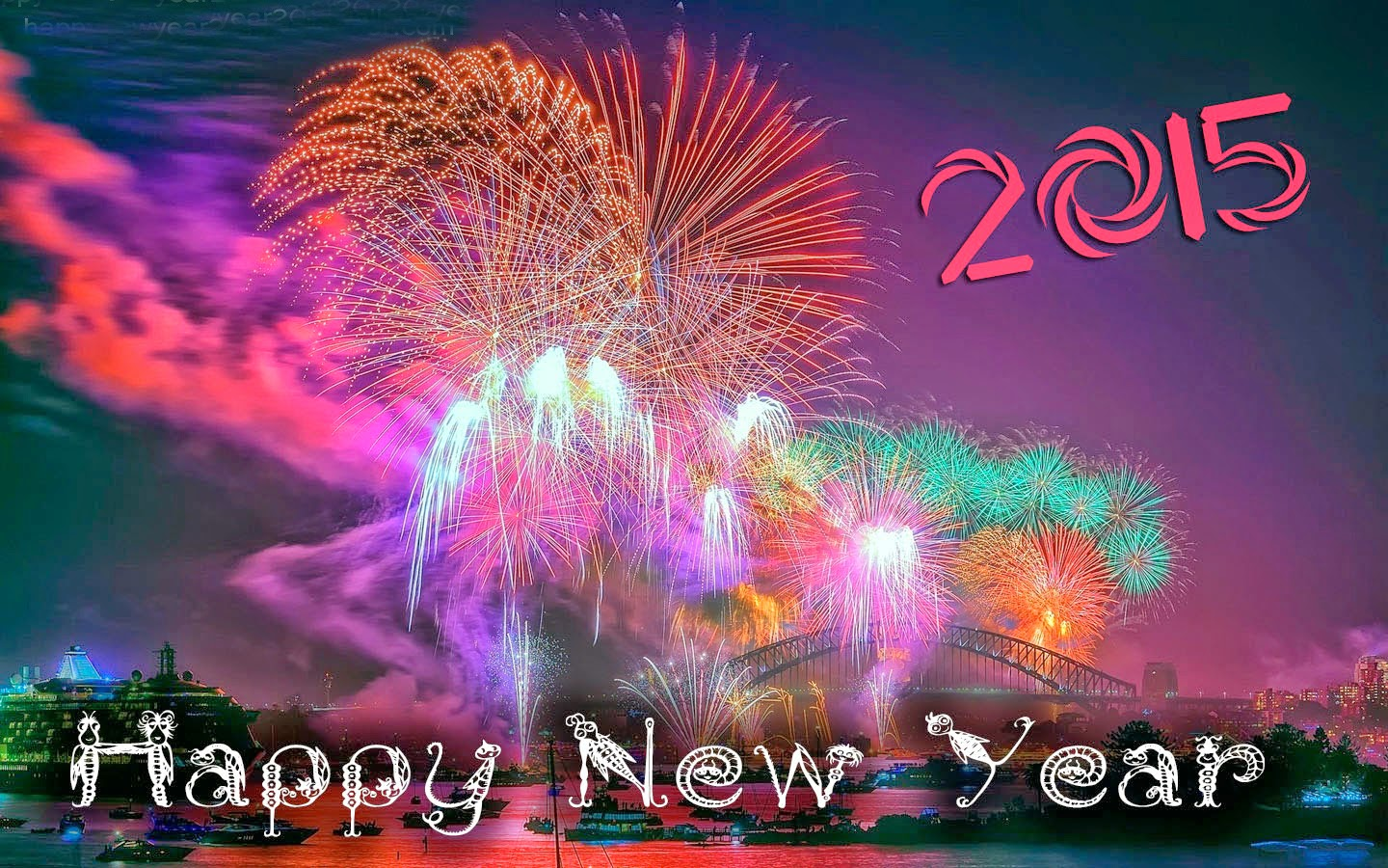 Happy New Year 2015 Latest HD Photos