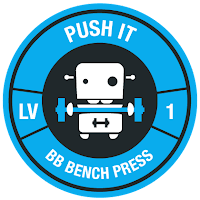 Fitocracy Bench Press Achievement Badge