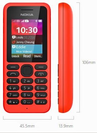 Nokia 130 Dual SIM Ponsel Murah Harga Rp 300 Ribuan