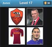 footbal quiz solution niveau 17