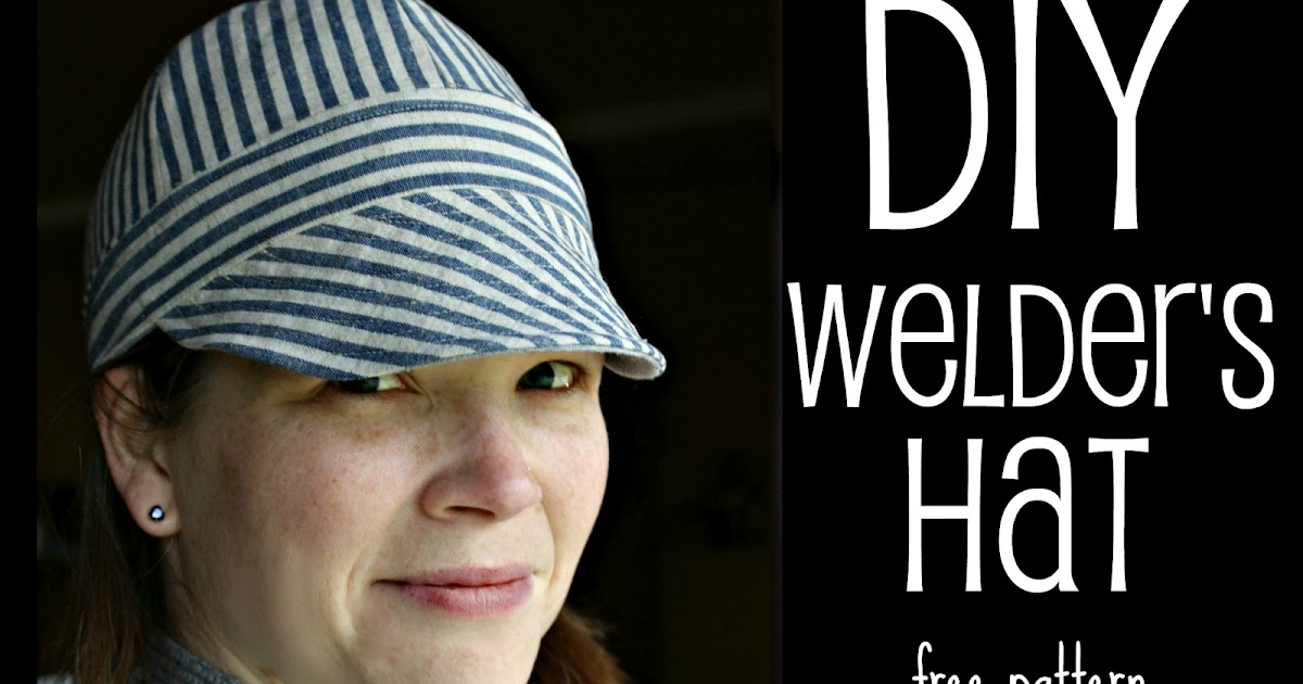 Ricochet and Away!: Welder\'s Hat: I found a free pattern!
